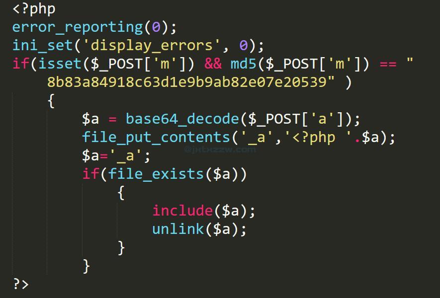 主题文件中插入的恶意代码